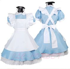 17€ Alice no país das maravilhas fantasia lolita cosplay empregada traje fantasia de halloween para mulheres