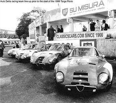 Zagato Alfa Romeo TZ 2 Autodelta racingteam Targa Florio 1966