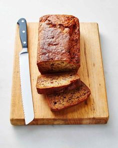 Coconut oil, ground flaxseed, and almond milk keep this eggless, dairy-free banana bread nice and moist.