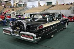 """1957 Mercury Turnpike Cruiser.  Extended rear bumper option.  A bright red one makes a cameo in the movie """"The Help."""""""