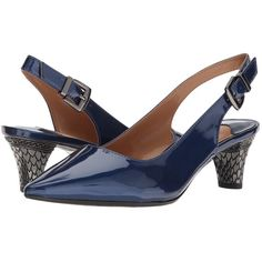 265cdecdcb5e6 J. Renee Mayetta (Navy) High Heels ( 90) ❤ liked on Polyvore featuring  shoes