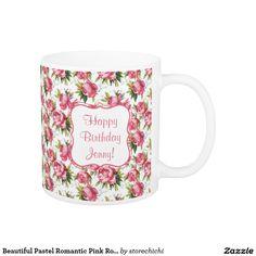 Beautiful Pastel Romantic Pink Roses. Girly
