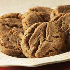 Gingersnap Cookies- These are Delicious! I have made them a lot.
