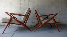 Mid Century Modern styled Lounge Chairs