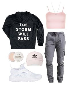 """""""outfit"""" by kwharmony on Polyvore featuring WearAll, NIKE, Fresh, Tiffany & Co. and adidas"""