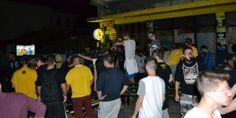 Πανηγυρισμοί τα ξημερώματα των οπαδών της ΑΕΚ και στο κέντρο της Πάτρας – Δείτε ΒΙΝΤΕΟ από την πορεία
