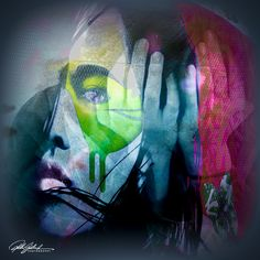 Digital Art -Hands of Photo Collages, Colorful Interiors, Digital Art, Hands, Fictional Characters, Photography Collage