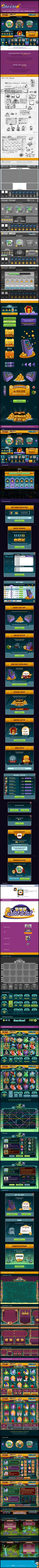Slots-Social-Game---GUI-Design-on-Behance