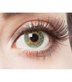 Green Glitter - Kontaktlinsen ohne Stärke  Artikel-Nr: ARI-291  EAN: 4250666802487  Diese Wunderbaren und schönen farbigen Kontaktlinsen ohne Stärke eignen sich besonders für helle Augenfarben, sie betonen grüne Augenfarben und sind für einen natürlichen Look gut. Make Up, Eye Doctor, Natural Looks, Makeup, Beauty Makeup, Bronzer Makeup