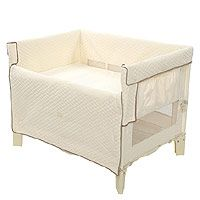 Arm's Reach Original Co-Sleeper - Natural - BECAUSE MY GRANDCHILD WILL SLEEP IN HIS OWN BED