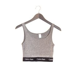 QUEENS | Calvin Reworked Crop Tank