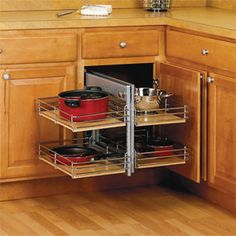 Small Kitchen Space Saving Tips. Corner Cabinet ...