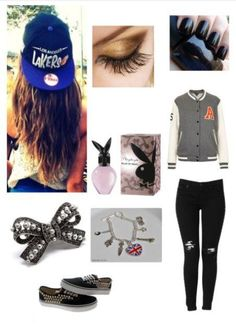 lazy / skater outfit :) minus the purfume! Skater Girl Outfits, Skater Girls, Band Outfits, Cute Outfits, Trendy Teen Fashion, Love Band, Casual Wear, Fashion Outfits, My Style