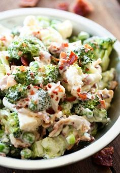 Broccoli Cauliflower Salad | Nosh-up