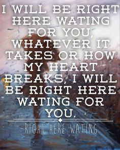 RIGHT HERE WAITING Chords - Richard Marx | E-Chords