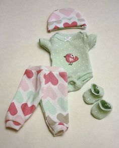 "Baby Alive Clothes And Accessories 10"" Reborn Baby Doll Clothes Ooak  Doll Clothes And Accessories"