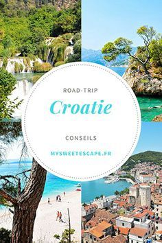 Road trip in Croatia: from Split to Dubrovnik, directions, addresses, tips Destinations D'europe, Places To Travel, Places To Go, Road Trip Europe, Travel Europe, Hotels, Voyage Europe, Destination Voyage, Road Trip Hacks