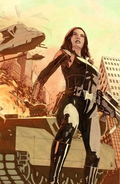 The Avengers Black Widow by Bentti Bisson