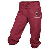 Alabama Crimson Tide adidas Red Women's Big Better Logo Cropped Capri Pants
