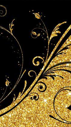 Gold Silver Diamond IPhone Pattern Lock Screen Wallpaper