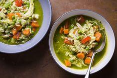 Peruvian Chicken, Rice and Cilantro Soup (Aguadito de Pollo) from Christopher Kimball's Milk Street