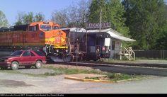 AOK 567   Description:    Photo Date:  5/27/2013  Location:  Wilburton, OK   Author:  David Krebs  Categories:  Yard  Locomotives:  AOK 567(B40-8W)