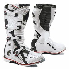 FORMA quality adventure touring men women motorbike boots motorcycle motocross racing riding gear footwear leather enduro waterproof black protection home help