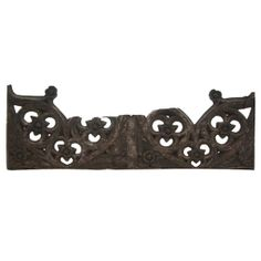 English Gothic Oak Architectural Tracery Panel 15th century