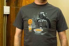 Vader likes his orange juice freshly force choked. lol
