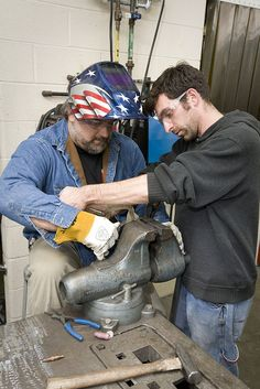 The Machine Tool Operations program trains students for employment in the machining and metalworking industries.    Students learn to operate machine tools such as milling machines, manual lathes, and drill presses. Studies will also include an introduction to using CAD-CAM to operate and program CNC machines.