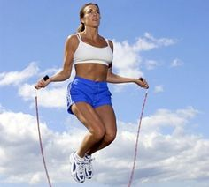 Jumping Rope Is A Great Way To Tighten Muscles