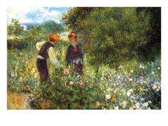 La Cueillette des fleurs, (1875), National Gallery of Art, Washington D.C.