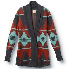 I love my tribal sweater, it looks awesome with my Paige Frye Boots, get compliments on it all the time :)