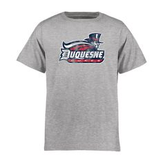 Duquesne Dukes Youth Classic Primary T-Shirt - Ash - $17.99
