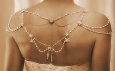 Necklace For The Shoulders1920'sThe Great by mylittlebride on Etsy strapless