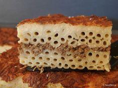 Greek Dishes, Crepes, Vanilla Cake, Tiramisu, Cheesecake, Pasta, Ethnic Recipes, Desserts, Food