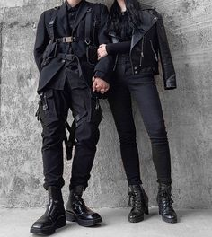 Behind The Scenes By lessiswore Couple Outfits, Edgy Outfits, Mode Outfits, Grunge Outfits, Fashion Outfits, Dress Outfits, Style Fashion, Swag Fashion, Fashion Tips
