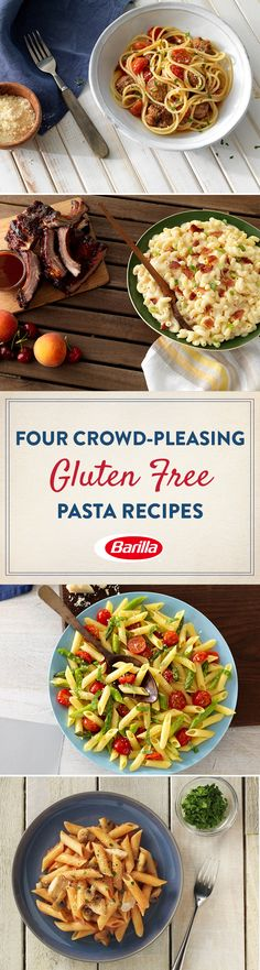 Simple ingredients and delicious gluten free pasta combine to create recipes that are so delicious, they'll ask for seconds.