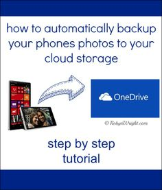 How to automatically backup your phones photos to your cloud storage #TUTORIAL   RobynsOnlineWorld.com