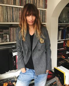 "11.2k Likes, 72 Comments - Caroline de Maigret  (@carolinedemaigret) on Instagram: ""What's nice with winter and heaters is that even layers of filters won't hide the bags under your…"""
