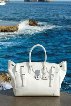 585decc268b5 ralphlauren  The Soft Ricky Bag Grab it and go  our classic Soft Ricky in  all-white Shop Yours
