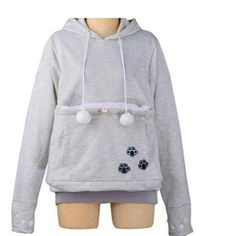 Catagaroo Hoodies with Kangaroo Pouch For Your Cat
