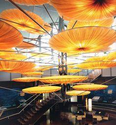 Lamp by AYALA SERFATY - Underwater Restaurant - Oceanographic - Valencia - Spain