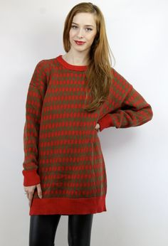 Click to shop our extensive collection of vintage oversized knits!