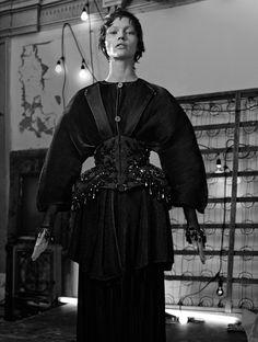 Sasha Pivovarova by Craig McDean for Interview Magazine March 2014 1