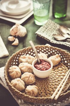 Steamed Chicken Momos | The Novice Housewife