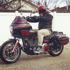 Custom Harleys, Custom Motorcycles, Custom Bikes, Cars And Motorcycles, Street Bob, Harley Davidson Dyna, Bike Ideas, Club Style, Scooters
