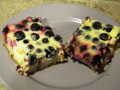 Specific Carbohydrate Diet For Life: SCD Recipe: Lemon Blueberry Bars