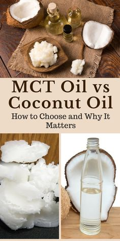 MCT oil and coconut oil both have significant benefits for health. They also have key differences. In this post, we look at the advantages of each, including the implications for keto and which oil you should choose. | #keto #mct #coconut #healthyfat