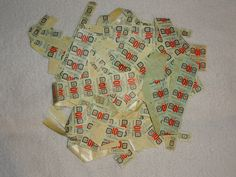 Lots of Green Stamps that never made it into the books.